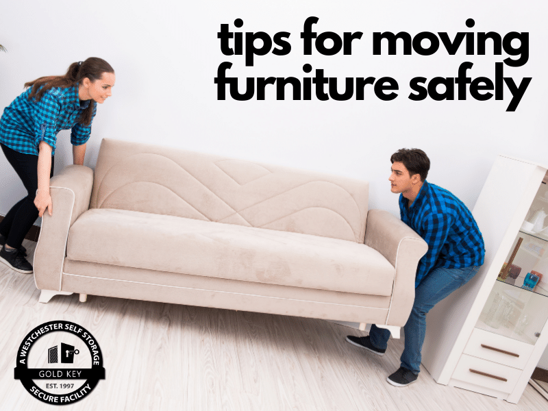 tips for moving furniture Somers Self Storage